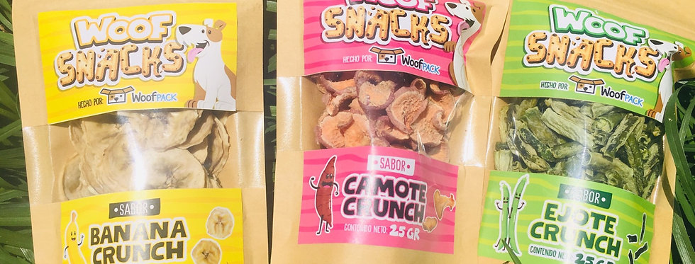 snacks naturales para perro