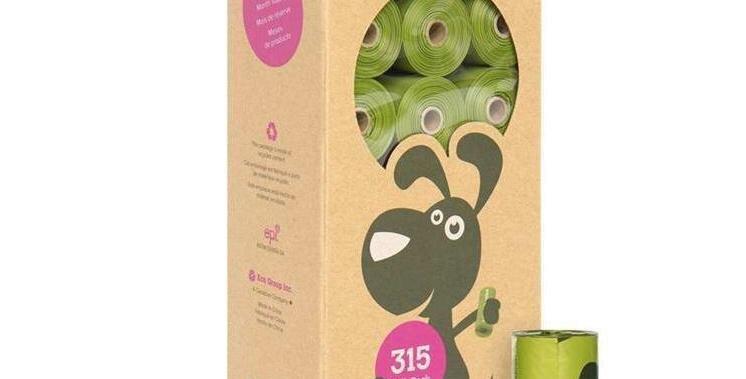 Bolsas Biodegradables PoopBags Caja 8 rollos