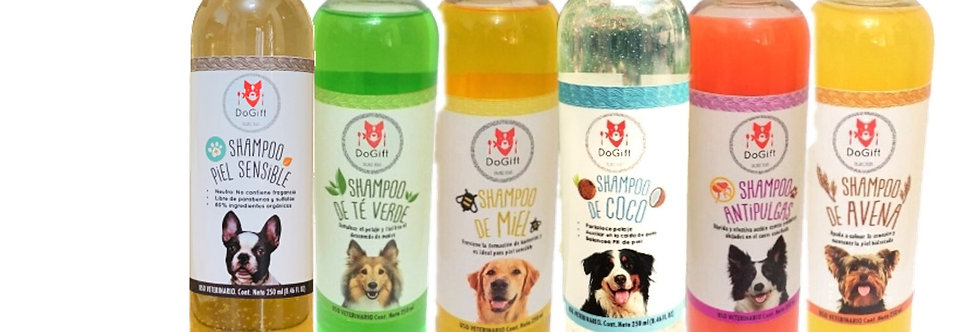 Mayoreo - Shampoo Canino 100% natural
