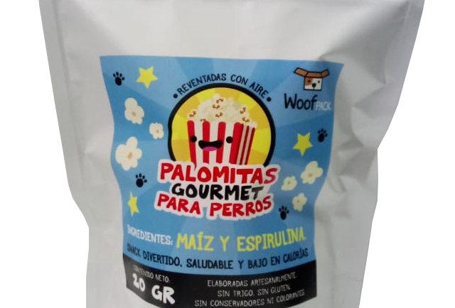 Palomitas caninas Gourmet con espirulina (3)