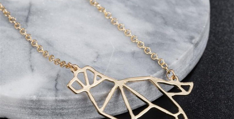 Collar Origami Golden Retriever