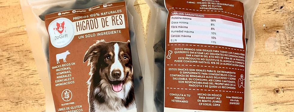 Premios Naturales para perros - Hígado Deshidratado de res