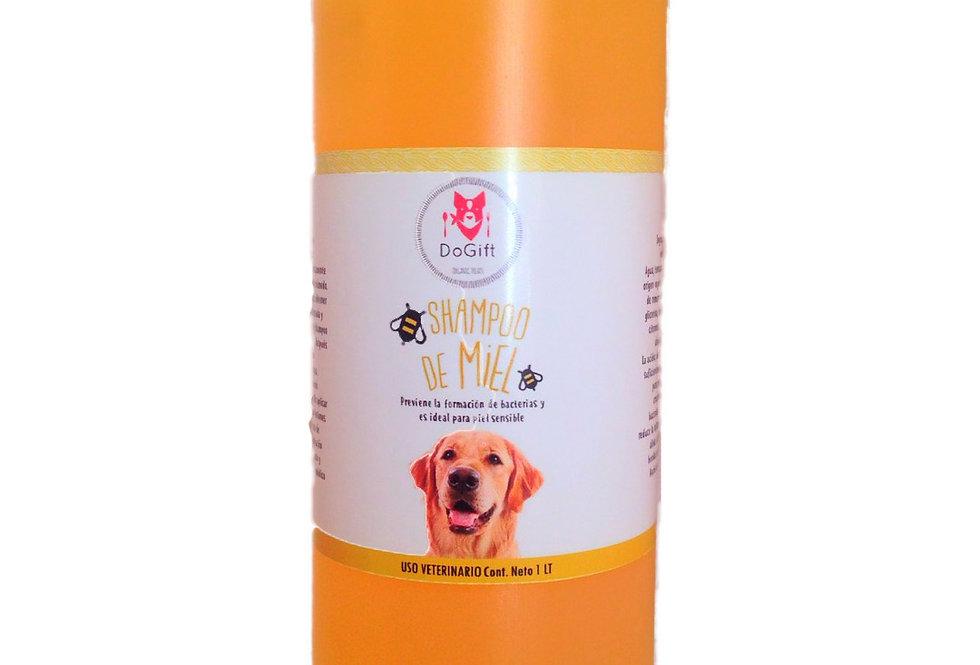 shampoo natural canino de miel para estética canina
