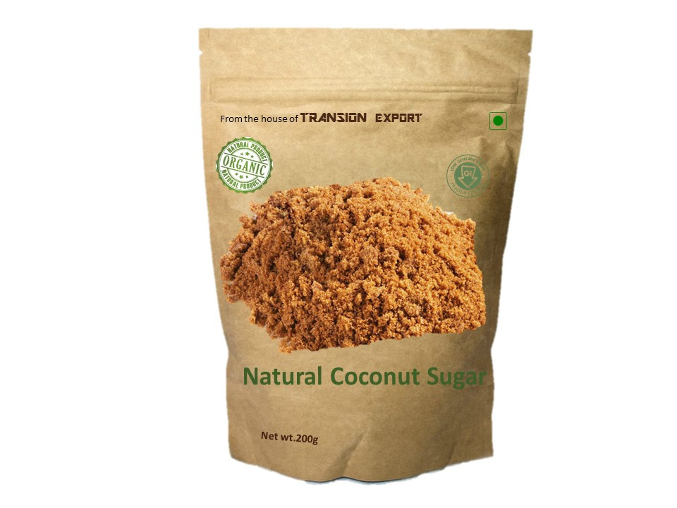 1:1 replacement for conventional sugar - Natural organic Coconut Sugar