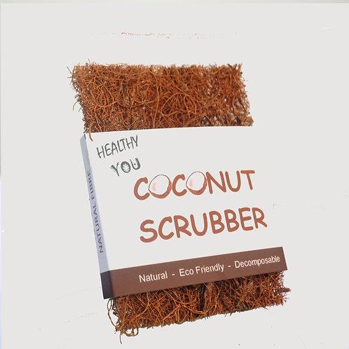 "Coconut Kitchen Scrub Pads 4""x3"""