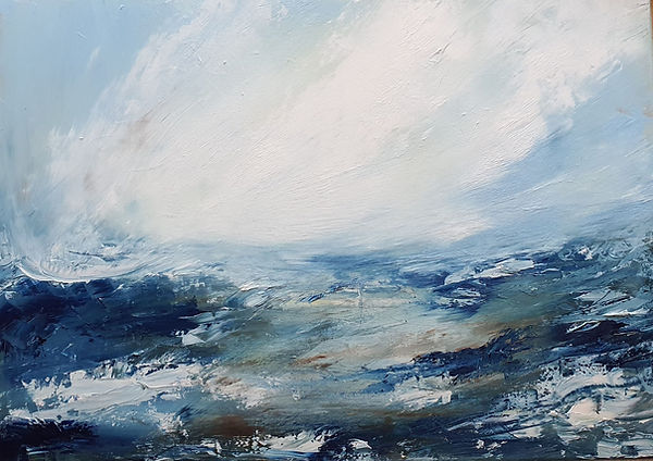 Blue by Sarah Pettitt
