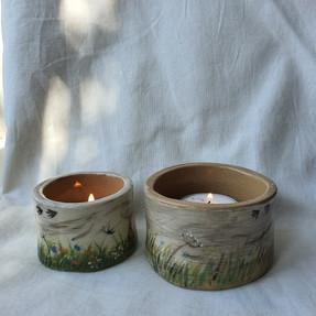 Sarah Pettitt Ceramic Candle Pots