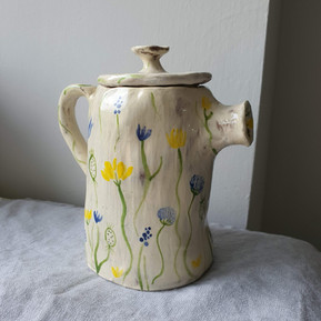 Heaven Scent Ceramic Teapot