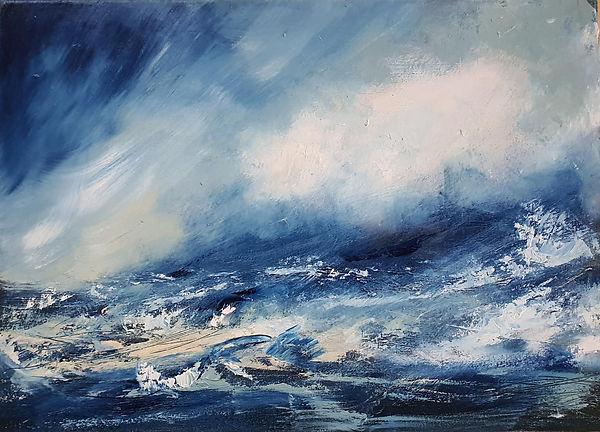 So Blue by Sarah Pettitt