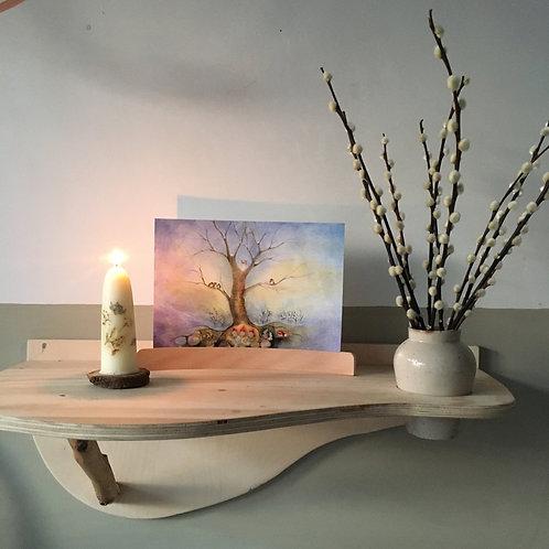 """Large art card set """"Seasons"""" (4 sheets A4 )"""