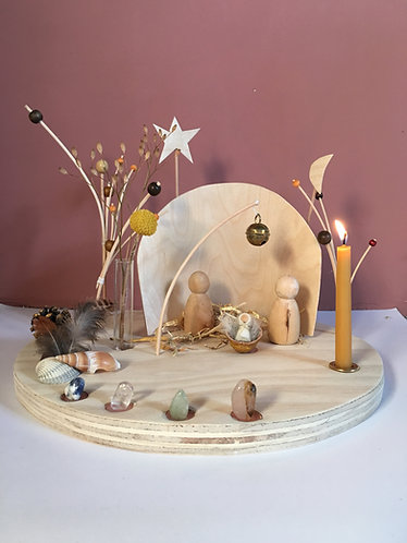 nativity scene (advents-calendar) without baseplate