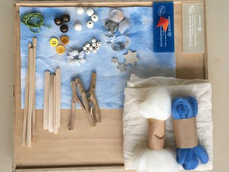 Winter material set