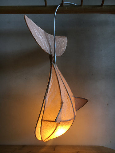 Small whale lamp