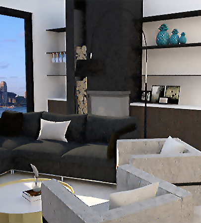 Living Room | Blues Point