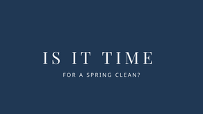 Is it time for a spring clean?
