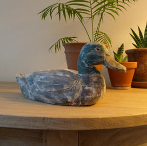 Vintage Decoy Duck
