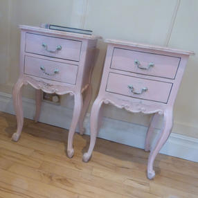 Pair of French Country Bedside Tables