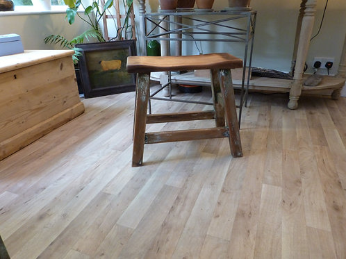 Rustic four leg stool