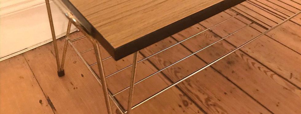 Retro Coffee Table with magazine rack
