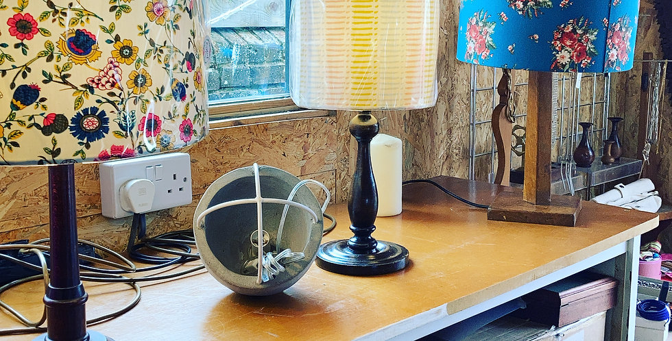 Selection of Vintage & Vintage Style Lamps