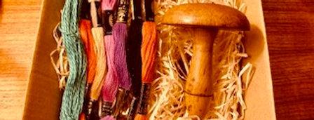 Vintage Threads and Mushroom