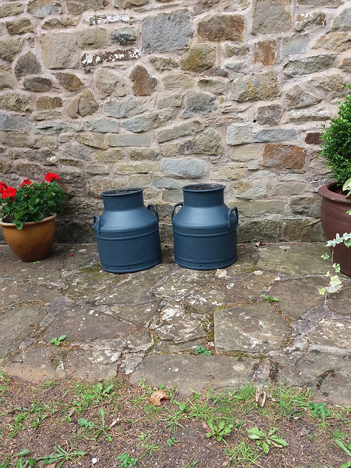 A pair of small Milk Churns - NOW SOLD