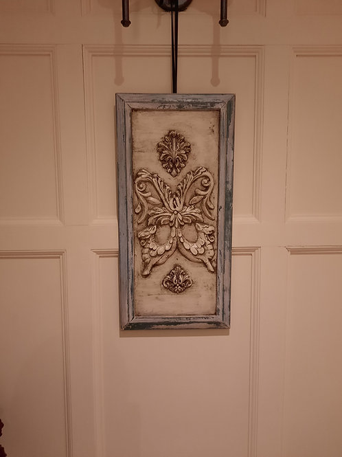 Framed relief Plaster Panel Frieze