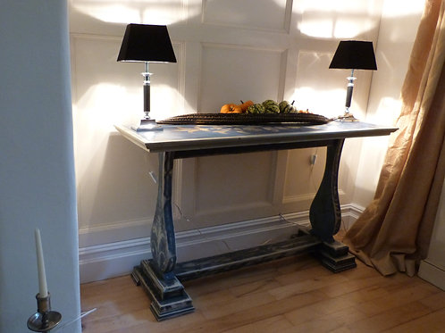 Classical Antique Style Painted Console Table