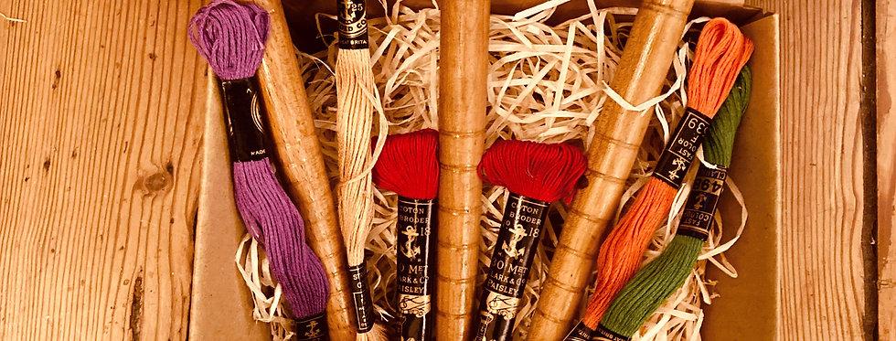 Vintage Bobbins & Threads