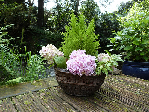 Simple Country Wicker Basket