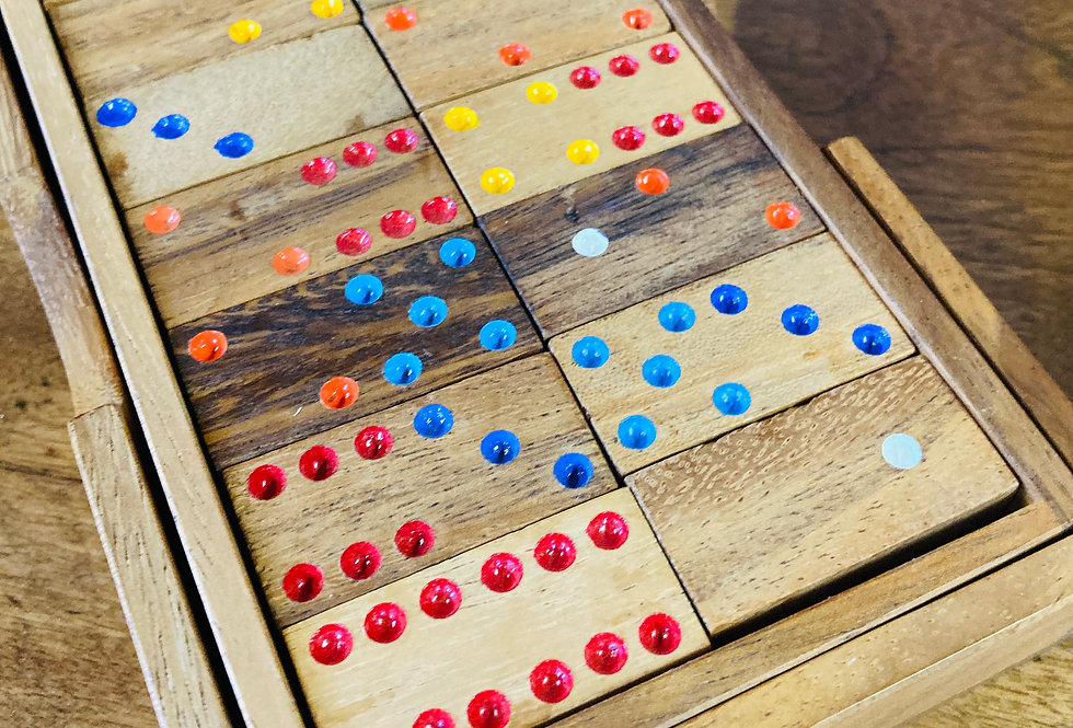 Boxed Dominoes