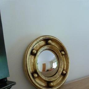 Small Round Convex Mirror