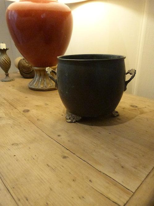 Small Decorative Metal Urn