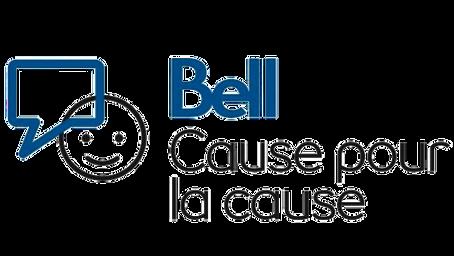 Bell Cause pour la cause verse 100 000$ pour l'Aire ouverte