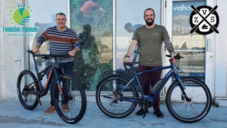 Zone Vélo Ski et la FRHSI s'associent pour la campagne «Réserve ton vélo au nom de la SANTÉ!»