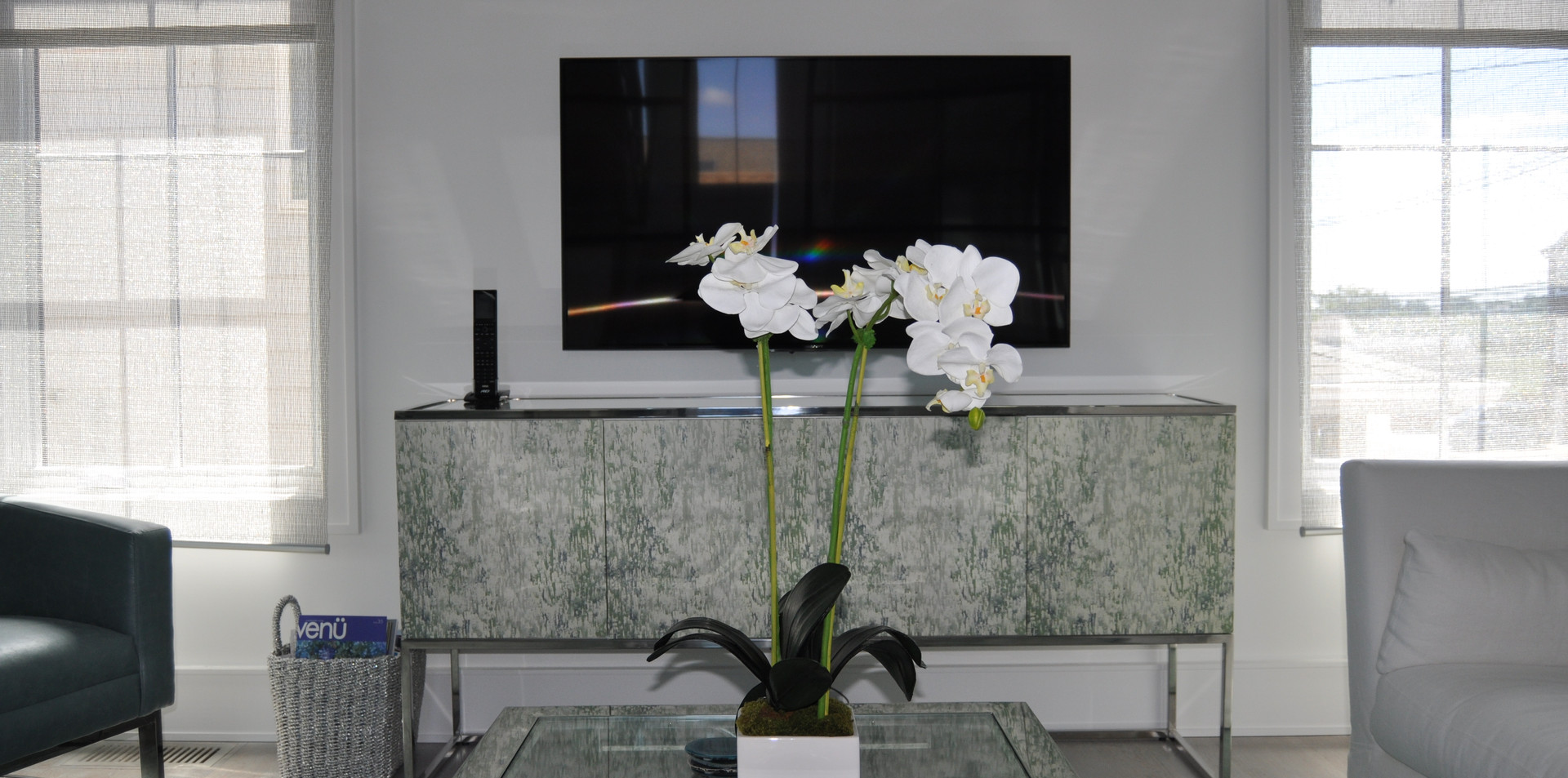 TV in the Sitting Room