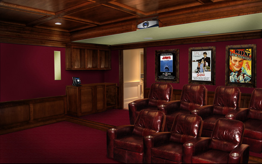 Showcase Home Theater Seating