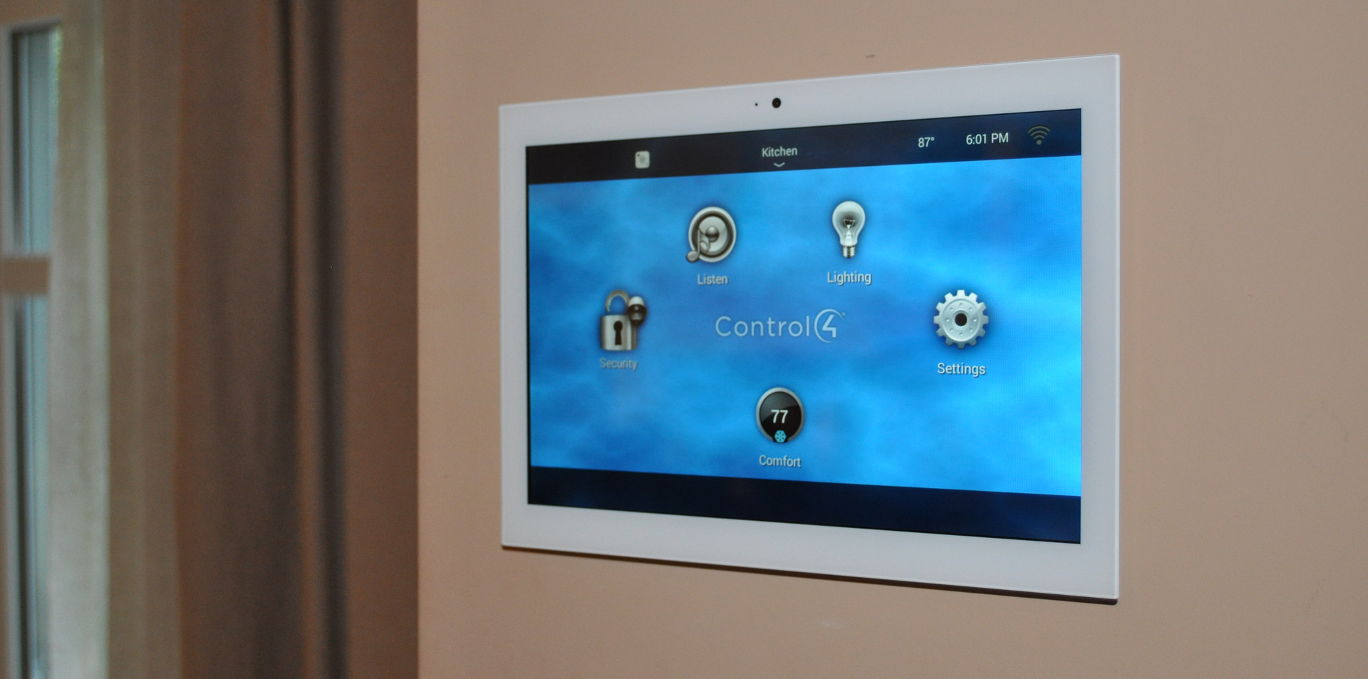Control4 Touch Panel