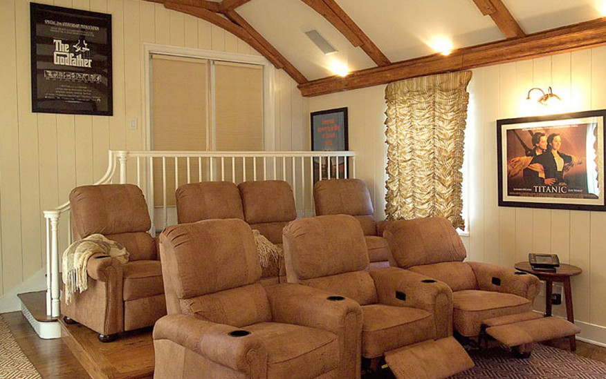 Plush Theater Seating