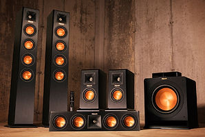 Klipsch offers high performance audio from elegant and stylishly designed speakers.