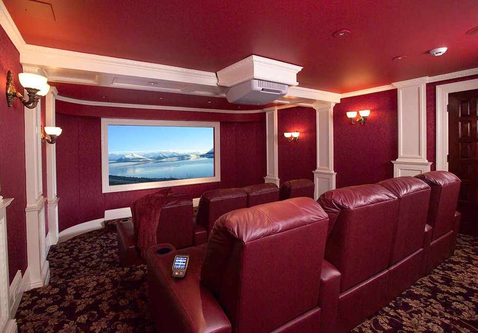 Red Room Home Theater