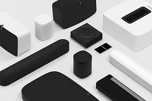 SONOS is the best brand for wireless connected speakers that lets you add and remove speakers with almost no effort.