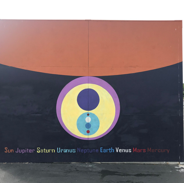 Planetary Ball Wall Mural