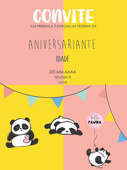 Convite Digital | Panda