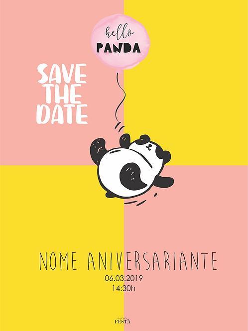 Save the date   Panda