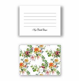 Cartão tipo Postal  Tropical Garden | 12 unidades