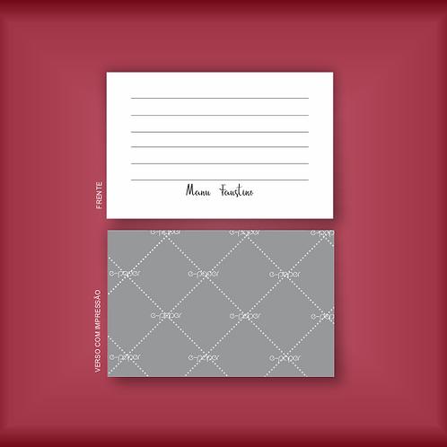 Cartão tipo Postal | 20 unidades