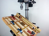 The Revolution Drill Press - Interchanging Work Surfaces