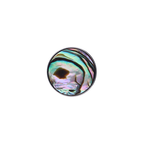 14mm Abalone COLOR BUTTON