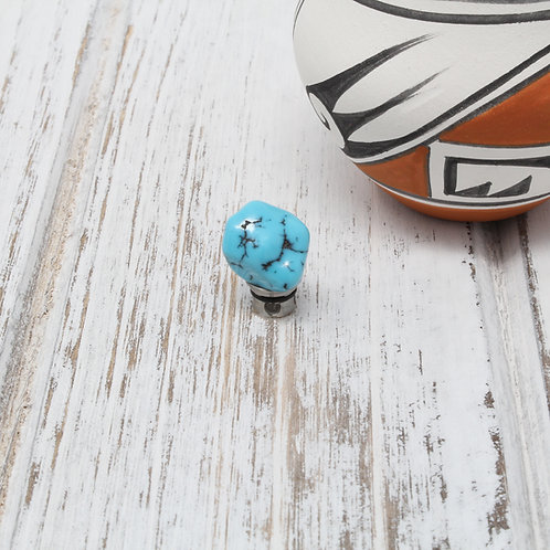 SANTA FE Persian Turquoise Nugget Centerpiece